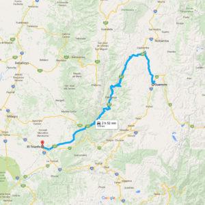 Ruta El Triunfo - Guamote